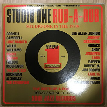 Various ‎– Studio One Rub-A-Dub (Studio One In The 1970s)