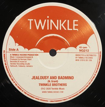 Twinkle Brothers – Jealousy And Badmind / Cross Over It