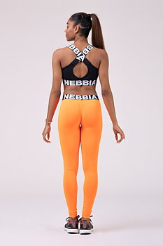 Squad Hero Scrunch Butt Tights, orange, S