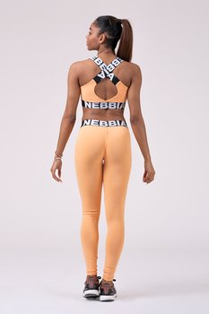 Squad Hero Scrunch Butt Tights, apricot, S