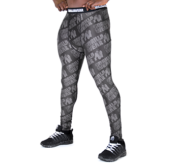 San Jose Men's Tights, black/grey,
