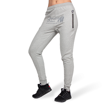 Celina Drop Crotch Joggers, grey