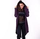 Rebel Tail Coat Jacket, burgundy