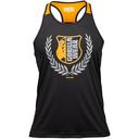Lexington Tank Top, black/neon orange