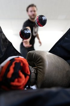 Multifunctional Deodorizer Balls, black/red (par)