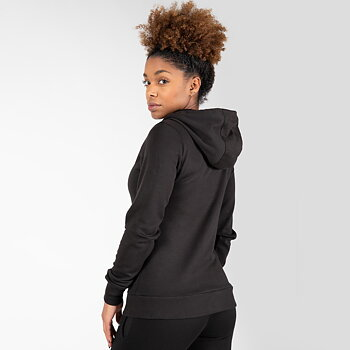 Pixley Zipped Hoodie, black