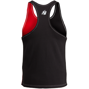 Sterling Stringer Tank Top, black/red, S