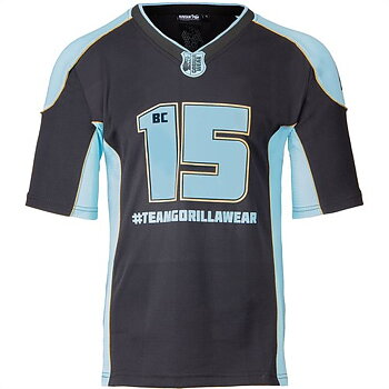 Athlete T-Shirt 2.0 Brandon Curry, black/light blue, M