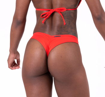 Brasil Scrunch Butt Bikini, red, S