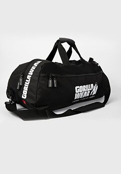 Norris Hybrid Gym Bag/Backpack, black