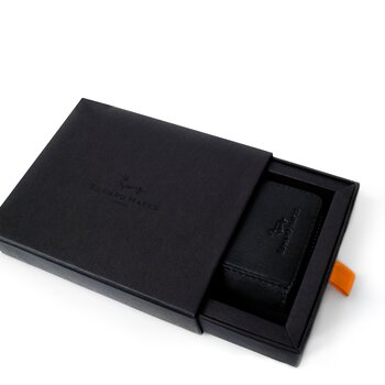 EDWARD HAYES LONDON Card wallet Bruton black