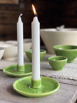 "Ljusstake ""Per-Ers"", grön"