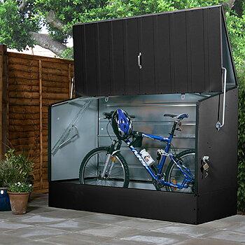 Oppbevaringsboks og sykkeloppbevaring BicycleStore