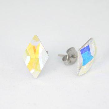 RHOMBUS ÖRHÄNGEN - Crystal AB