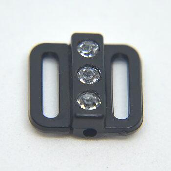 BIKINISPÄNNE - svart/crystal