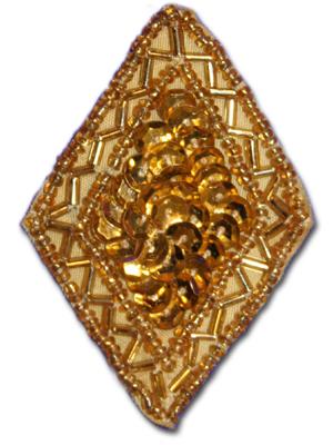 Romb - guld