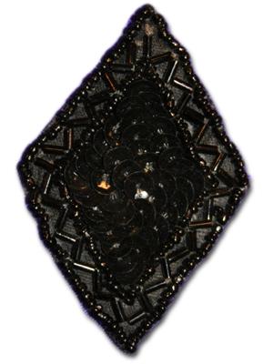 Romb - svart