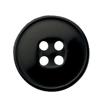KNAPP - svart 25 mm
