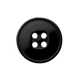 KNAPP - svart 16 mm