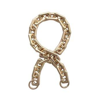 Metal Chain väskrem, guld