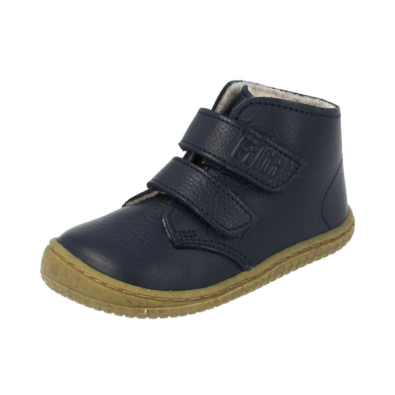 Filii Soft Feet Barefoot winter shoes Navy, Size 20