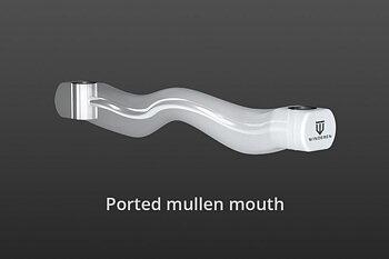Winderen munnstykke - Tungefrihet - Ported mullen mouth - HVIT