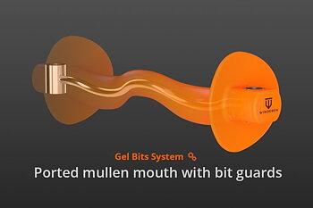 Winderen munnstykke - Tungefrihet - Bit guards