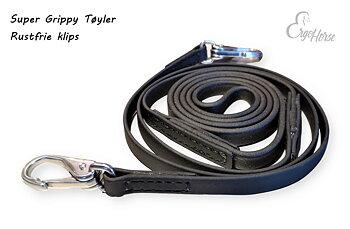 Super Grippy Tøyler - Snap hook