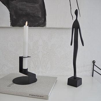 Skulptur MAN SVART - Storefactory