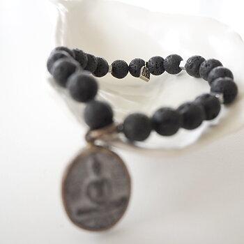 Armband Buddha SHANTI LAVA - ICON