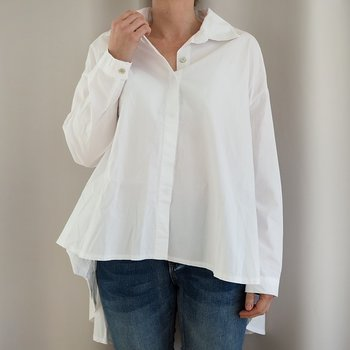 Storskjorta Bomull One Size VIT - d´NADA
