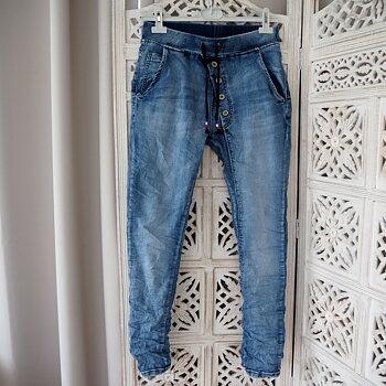 Baggy Jeans med knappar fram (flera storlekar) - Train of Trend