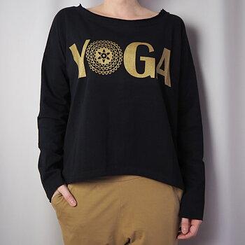 Topp TABITA YOGA One Size SVART  - Santa Ni