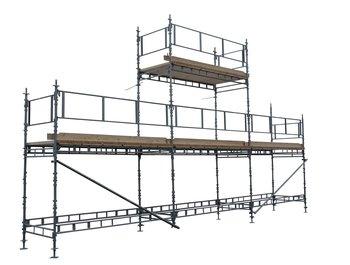 Unihakin rakennustelinepaketti 7 (9x4 + 6m)