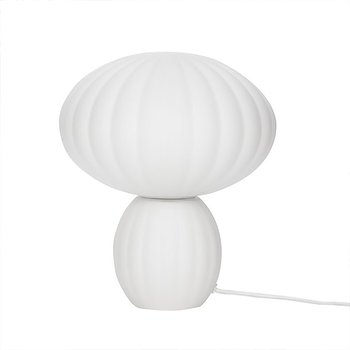 Bordslampa Opal vit