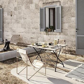 ferm LIVING - Desert Lounge Chair Black Soil