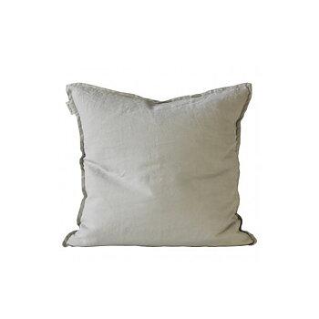 kuddfodral linnen 50x50 cm warm grey