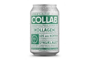 COLLAB Límónu & Ylliblóm 33 cl x 30 stk. (3 kasser)