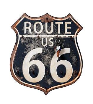 Nyckeltavla route 66, ruffig sliten look.