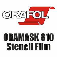 Oramask Schablon 810 BREDD 126 CM Ljusgrå