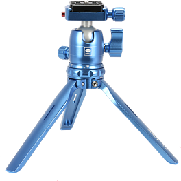 SIRUI 3T-15 TABLE TRIPOD WITH BALLHEAD BLUE