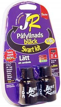 Refillbläck, svart 90 ml