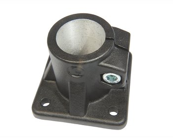Stativfot 40mm Svart