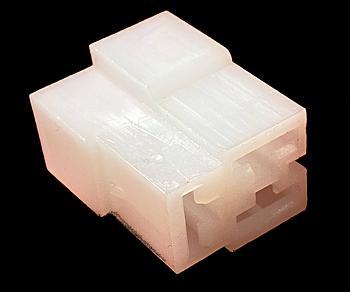 Kontakthus matning flatstift 6,3mm (3-Pol T Ex motor)