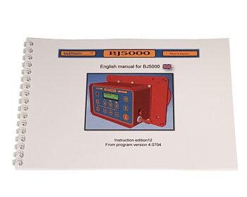 Instruktionsbok BJ5000