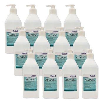 Handdesinfektion Alcogel 85% STORPACK Estell 12x600ml