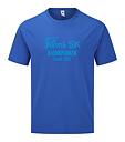 """T-shirt """"BJÖRKPARKEN"""" Blå/blå"""