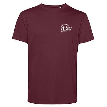 T-shirt Herr Vinröd