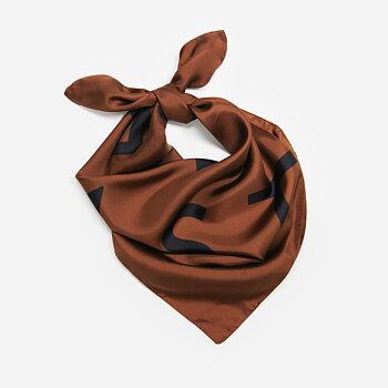 Bruno silk scarf