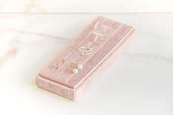 Öppen ringask pink